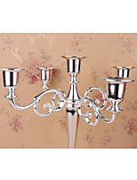 cheap -wedding wedding 5 candle holder european candle table dining table candlelight dinner hotel home decoration