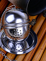 cheap -1pc Stainless Steel Tea Strainer High Quality , 4.5*4.3*4.3