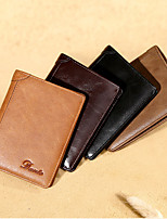 cheap -0.1 L Leather & Metal Crafting Wallet Sports & Leisure Bag Folding Genuine Leather Calfskin