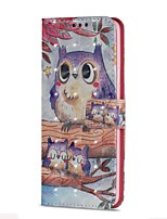 cheap -Case For Samsung Galaxy S9 S9 Plus Card Holder Wallet with Stand Flip Magnetic Full Body Cases Owl Hard PU Leather for S9 Plus S9 S8 Plus