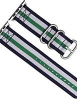abordables -Bracelet de Montre  pour Apple Watch Series 3 / 2 / 1 Apple Bracelet Sport Nylon Sangle de Poignet
