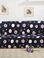 abordables -Style floral 100% Polyester Jacquard Housse de causeuse, Confortable Fleur Imprimé Literie