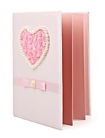 cheap -Satin Romance Fantacy WeddingWithRhinestone 1 Package Box Guest Book
