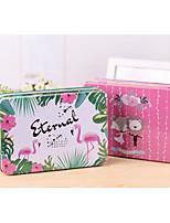 economico -Square Shape Ferro Porta-bomboniera con Bomboniere scatole Confezioni regalo Scatola di immagazzinaggio - 1box