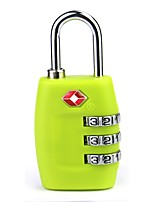 cheap -the customs code locks 4 boxes of travel bag password padlock metal four lock tsa335