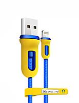 preiswerte -Beleuchtung USB-Kabeladapter Tragbar High-Speed Für iPhone 150 cm Nylon