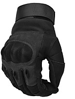 cheap -Hunting Tactical Outdoor Sports Full Finger PU Leather Anti Skid Gloves For Camping/Hiking