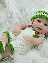 cheap -NPK DOLL Reborn Doll Baby 28cm Vinyl lifelike Cute Child Safe Parent-Child Interaction Simulation Lovely Non Toxic Children's Adults'