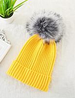 Недорогие -На каждый день Широкополая шляпа, Зима Осень Хлопок Винный Светло-синий Хаки Светло-серый Тёмно-синий