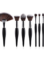 cheap -Makeup Brush Set Blush Brush Powder Brush Synthetic Hair Soft Full Coverage Wooden Nose Face