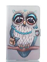 cheap -Case For Samsung Galaxy Tab E 8.0 Wallet with Stand Flip Pattern Auto Sleep/Wake Up Full Body Cases Owl Hard PU Leather for Tab E 8.0