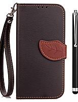 Недорогие -Кейс для Назначение OPPO R9s R11s Бумажник для карт Кошелек со стендом Флип Чехол Сплошной цвет Твердый Кожа PU для OPPO R11s Plus Oppo
