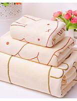 abordables -Style frais Serviette de bain, Mode Qualité supérieure Polyester/Coton Mélange de polyester Serviette