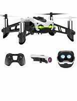 cheap -RC Drone Mambo FPV 4 Channel 3 Axis Bluetooth With 0.3MP HD Camera RC Quadcopter Height Holding Sideward flight FPV With Camera Charging
