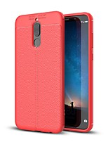cheap -Case For Huawei Mate 10 lite Mate 10 Ultra-thin Back Cover Solid Color Soft TPU for Mate 10 Mate 10 pro Mate 10 lite