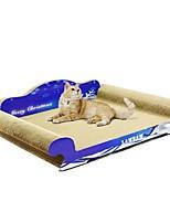cheap -Cat Cat Toy Pet Toys Catnip Paper Craft Scratch Art Luxury Pet Friendly Multi Color Scratch Pad Paraben Free Art Paper Cardboard Paper