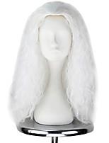 abordables -Perruques de lolita Lolita Blanc Princesse Perruque Lolita  55cm CM Perruques de Cosplay Halloween Perruque Pour