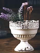 cheap -featured dried flowers flower retro desktop flower pot home florist ceramic ornaments vase