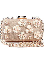 cheap -Women's Bags PU Clutch Appliques for Wedding Event/Party All Seasons Gold