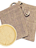 cheap -Gifts Bridesmaid Gift Cherry Blossom Soap Favor in Burlap Bag Beter Gifts® Life Style