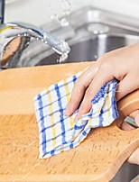cheap -High Quality 1pc Linen/Cotton Blend Cleaning Brush & Cloth,24*24