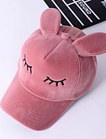 cheap -Flannel Baseball Cap, Casual Winter Fall Black Blushing Pink Gray