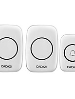 cheap -Ding dong Music One to Two Doorbell Sound adjustable Wireless Doorbell 300 Surface Mounted
