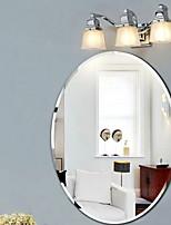 Недорогие -Зеркало Modern Закаленное стекло Крепление к стене