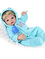 Недорогие -NPK DOLL Куклы реборн Дети Винил как живой Милый стиль Безопасно для детей Взаимодействие родителей и детей моделирование Милый Non Toxic