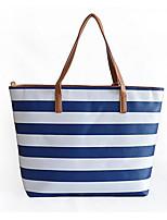 cheap -Women's Bags PU Shoulder Bag Zipper for Casual Spring Fall Blue Black Almond Fuchsia