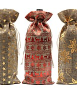 cheap -Christmas / Party Jute Wedding Decorations Holiday / Classic Theme / Vintage Theme All Seasons