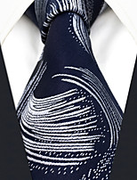 cheap -Men's Vintage Work Casual Silk Necktie - Geometric