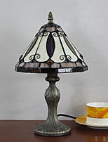 Недорогие -Модерн Декоративная Настольная лампа Назначение Спальня Металл 220 Вольт Красный