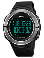 cheap -SKMEI Men's Digital Digital Watch Sport Watch Japanese Alarm Chronograph Water Resistant / Water Proof Stopwatch PU Band Casual Fashion