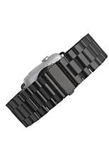 economico -Cinturino per orologio  per Apple Watch Series 3 / 2 / 1 Apple Chiusura classica Metallo Custodia con cinturino a strappo