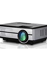 cheap -600D LCD Mini Projector 1500 lm Support 1080P (1920x1080) 20-80 inch Screen
