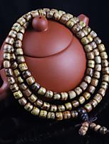 cheap -Men's Women's Bracelet , Natural Gift Wooden Circle Jewelry Birthday Gift Costume Jewelry