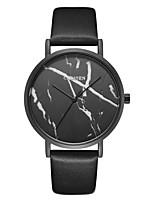 preiswerte -CADISEN Damen Armbanduhr Sportuhr Armbanduhren für den Alltag Japanisch Quartz Wasserdicht Armbanduhren für den Alltag Leder Band