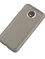baratos -Capinha Para Motorola G5 Plus Ultra-Fina Capa traseira Côr Sólida Macia TPU para Moto G5s Plus Moto G5s Moto G5 Além disso, Moto G5 Moto