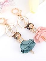cheap -Birthday Friends Wedding Keychain Favors Rhinestone Alloy Keychain Favors - 1