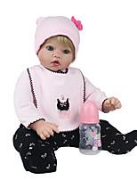 cheap -NPK DOLL Reborn Doll Baby 50cm Vinyl lifelike Cute Child Safe Parent-Child Interaction Simulation Lovely Non Toxic Children's Adults'