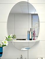 baratos -Espelho Moderna Vidro Temperado Montagem de Parede