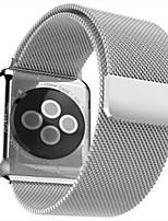 abordables -Bracelet de Montre  pour Apple Watch Series 3 / 2 / 1 Apple Bracelet Milanais Acier Sangle de Poignet