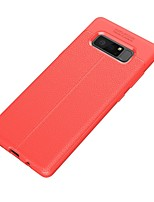 cheap -Case For Samsung Galaxy Note 8 Ultra-thin Back Cover Solid Color Soft TPU for Note 8