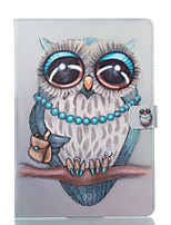 cheap -Case For Apple iPad 10.5 iPad (2017) Wallet with Stand Flip Pattern Auto Sleep/Wake Up Full Body Owl Hard PU Leather for iPad Air iPad
