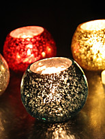 cheap -European Style Modern/Contemporary Glass Candle Holders 1pc, Candle/Candle Holder