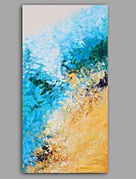 cheap -Oil Painting Hand Painted - Abstract Floral / Botanical Classic Modern Canvas