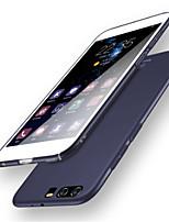 baratos -Capinha Para Huawei P10 Plus P10 Antichoque Ultra-Fina Côr Sólida Macia para