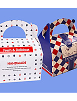 cheap -Square Shape Cardboard Favor Holder with Favor Boxes Cupcake Wrapper and Boxes - 1pc