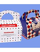 economico -Square Shape Cartone Porta-bomboniera con Bomboniere scatole Scatole e involucri per dolci - 1pc